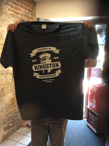 Short sleeve T shirt - Kingston Penitentiary -  by Martello Alley - Martello Alley