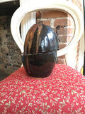 Altered copper vase - Pottery by Owen Davies - Martello Alley