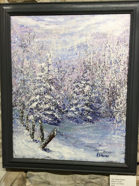 Winter Escape  - Original Lynn Steiner