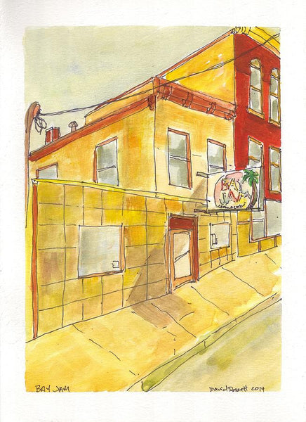 Bay Jam - Print by David Dossett - Martello Alley