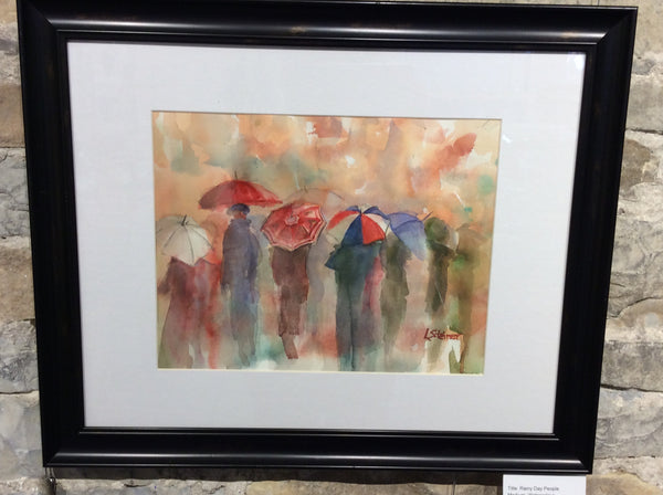 Rainy Day People - Original Lynn Steiner