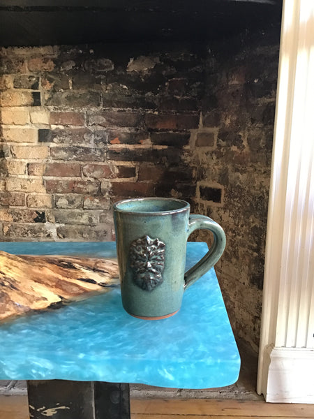 Celtic mug - Pottery by Peggy Davidson - Martello Alley