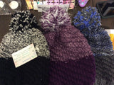 Hand knit tuque - Youth size