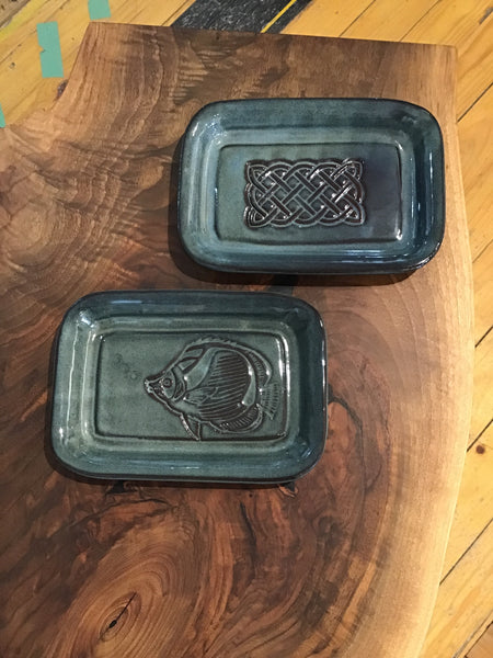 Butter dish by Peggy Davidson - Ceramics by Peggy Davidson - Martello Alley