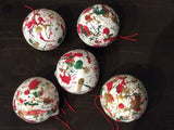 Painted Christmas Balls by Lyne-Ann Nguyen