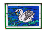 Stained Glass - Bluenose (print) - Print by Alistair Morris - Martello Alley