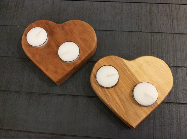 Tea Light Heart shaped candle holder