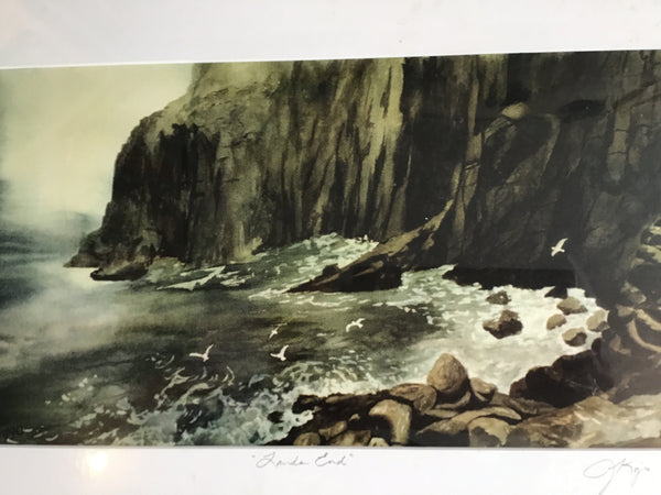 Lands End - large matted print