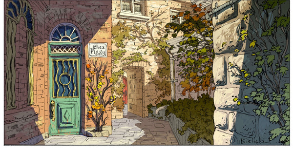 Assorted postcards - large - Assorted large postcards by Peter Bielicki - Martello Alley
