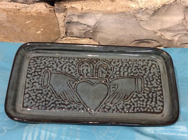 "Rectangular tray 10.5"" x 5"" with asst designs"