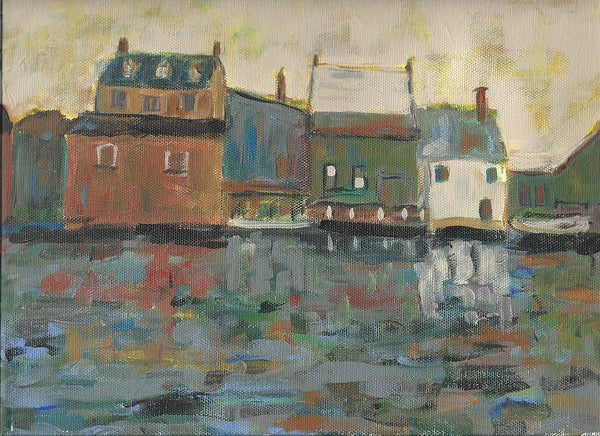 The Dock - Print by David Dossett - Martello Alley