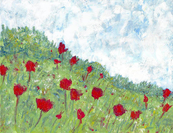 The Meadow - Print by David Dossett - Martello Alley
