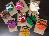 Mock knitted Ornaments