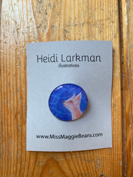 Button by Miss Maggie Beans (2@$15 various) - Button by Heidi Larkman - Martello Alley