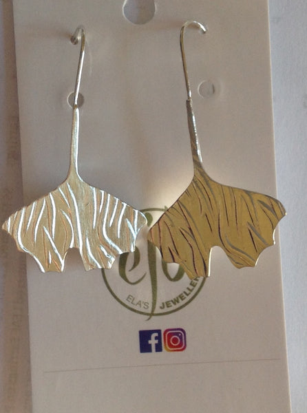 E67 SS Ginko - Jewellery by Martello Alley - Martello Alley