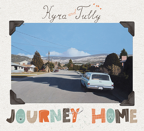 CD Kyra and Tully The Journey Home -  by Tully - Martello Alley