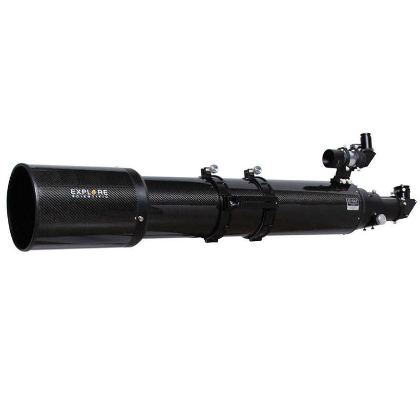 "ED152CF Air-Spaced Triplet Apochromatic Refractor, Carbon Fiber w/Hexagonal 3"" Focuser - TED15208CF-HEX"