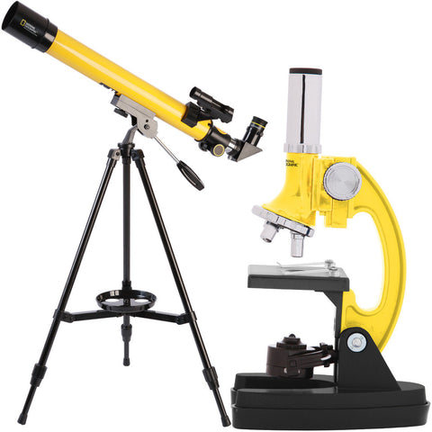 National Geographic 1200x Microscope and 50mm Telescope