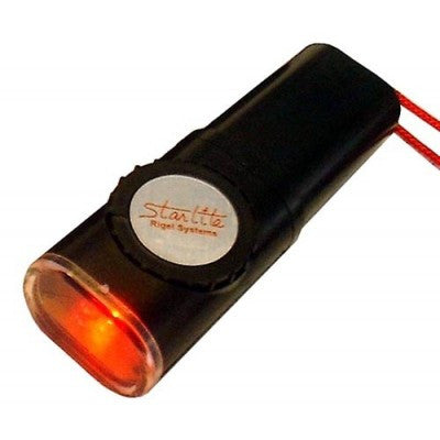 Rigel Systems Starlight Water Resistant Red Flashlight
