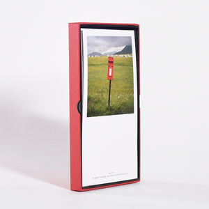 Martin Parr - Remote Scottish Postboxes (The Postcards)