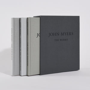 "John Myers - The Works (with three 5x4"" signed silver-gelatin prints)"