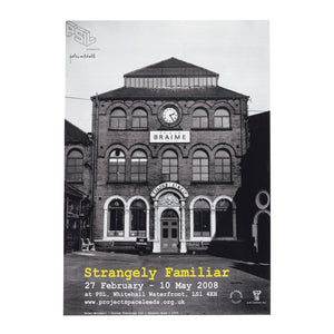 Peter Mitchell - Strangely Familiar - Exhibition Poster Print