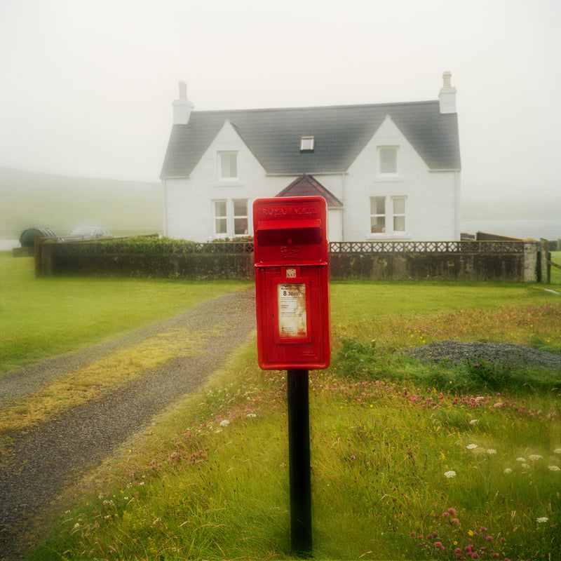 Martin Parr - Remote Scottish Postboxes (Special Edition with Four Signed Prints)