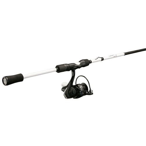 13 Fishing Defy White/Source X Spinning Combo
