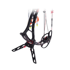 TRUGLO Black/Red Bow Jack