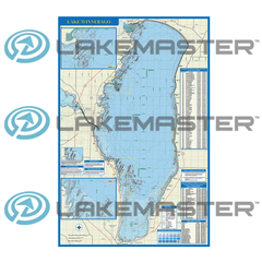 LakeMaster - Winnebago Chain Paper Map