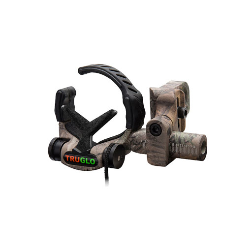 TRUGLO - Down-Draft Full-Containment Drop-Away Arrow Rest (XTRA Camo)