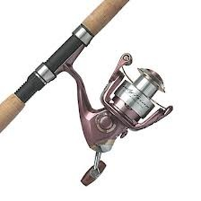 Pflueger Lady Trion Spinning Combo (5FT, UL)