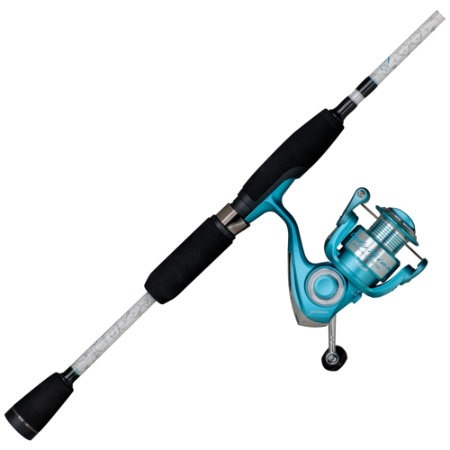 Pflueger Lady Trion Spinning Combo (6FT 10INCH, M)