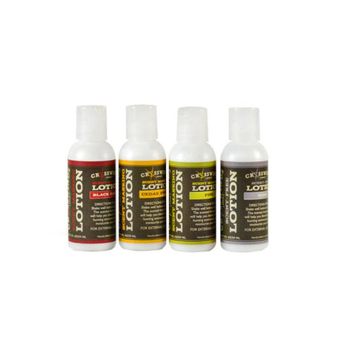 Crosswinds - 4 Pack Hunting Lotions