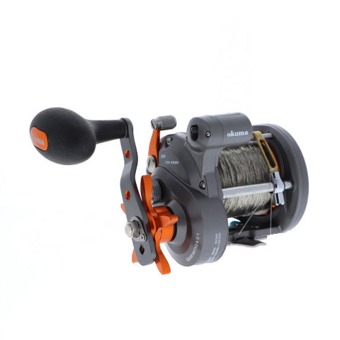 Pre-Spooled Copper Okuma Cold Water 453D Reel