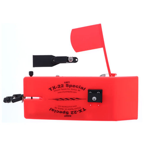 Church Tackle TX-22 Special Board w/Flag