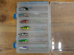 14 Custom Flicker Shad Size 4 w/Case 1