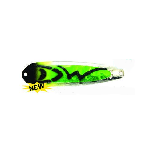 Dreamweaver Magnum Spoon UV Green/Black Signature Series 4-3/4""