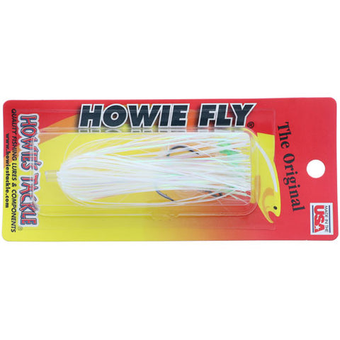 Howie's Tackle Fly White