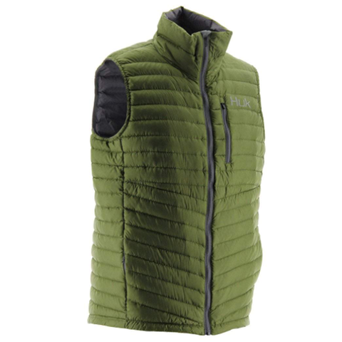Huk Double Down Vest Military Olive Drab