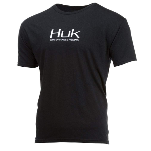 Huk Performance Fishing Tee Black
