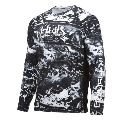 Huk Pursuit Camo Vented Long Sleeve Shirt