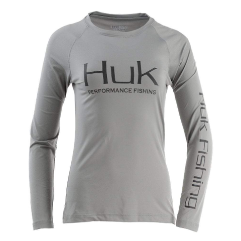 Huk Womens Pursuit Vented Long Sleeve Shirt