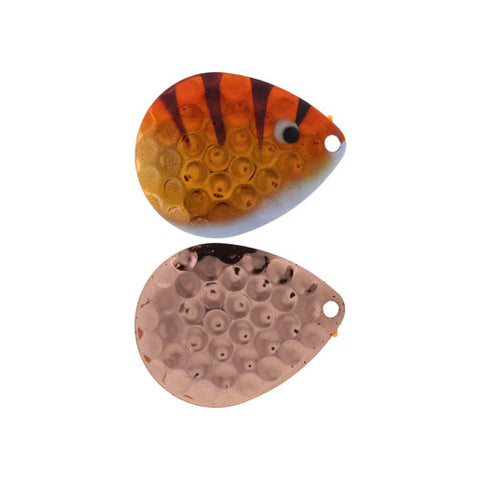 JT Custom Blades Copper Back 3 pack Baby Walleye