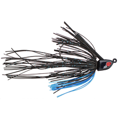 Omega Custom Tackle Revelation Swim Jig Black Blue
