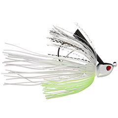 Omega Custom Tackle Revelation Swim Jig Chartreuse Shad