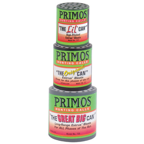 Primos The Can Family Pack w/ Lil, Original, & Great Big Can