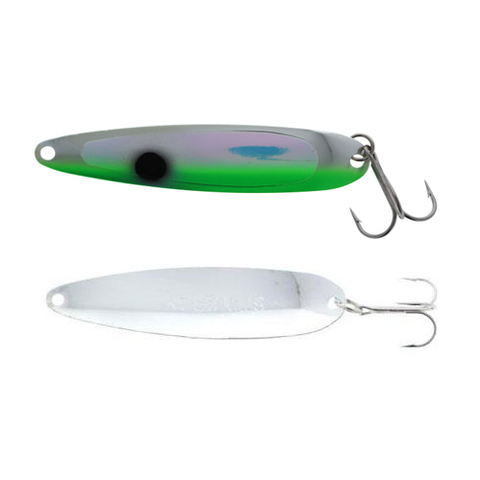 Michigan Stinger Spoon Standard UV Green Tux 3-3/4""