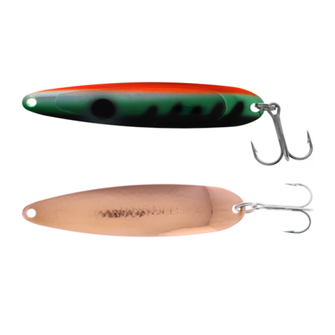 Michigan Stinger Spoon Standard UV Perch Copper 3-3/4""