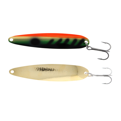 Michigan Stinger Spoon Standard UV Perch Gold 3-3/4""